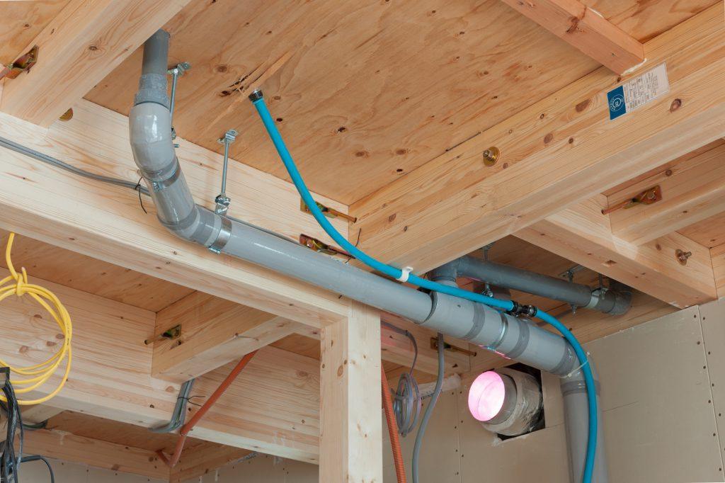 排水管更新工事のイメージ